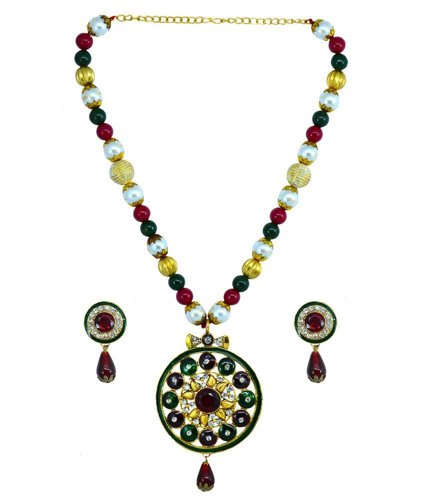 Suvini Stylish Necklace Set