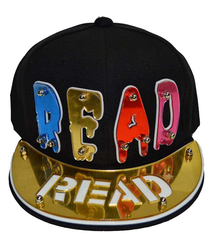 Swagger Read 3D Golden Snapback Hip Hip Cap - Buy Online   Rs ... e9d08a7e9813