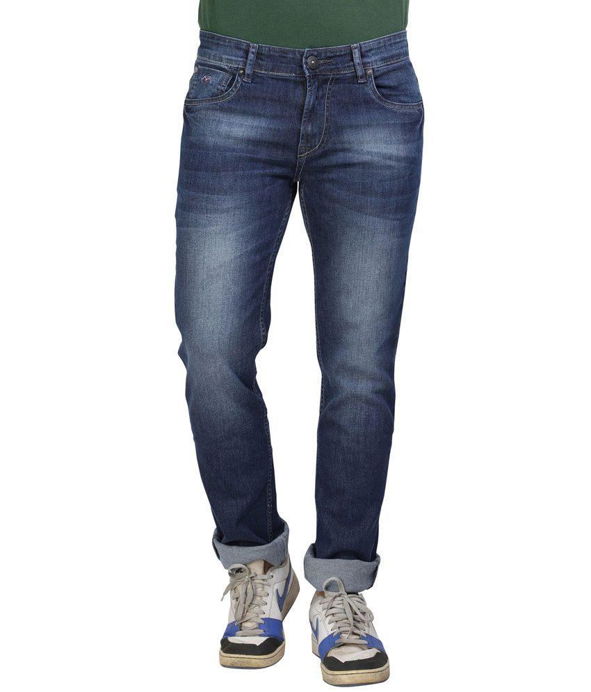wert slim fit blue denim jeans for men buy wert slim fit blue denim jeans for men online at. Black Bedroom Furniture Sets. Home Design Ideas
