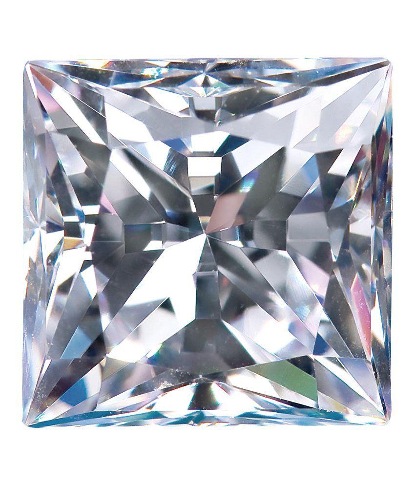 Diamond Nexus India Lab Created Synthetic Loose Diamonds, 1.39 Ct Princess Cut, D-Color, IF Clarity, AIG Certified(USA)