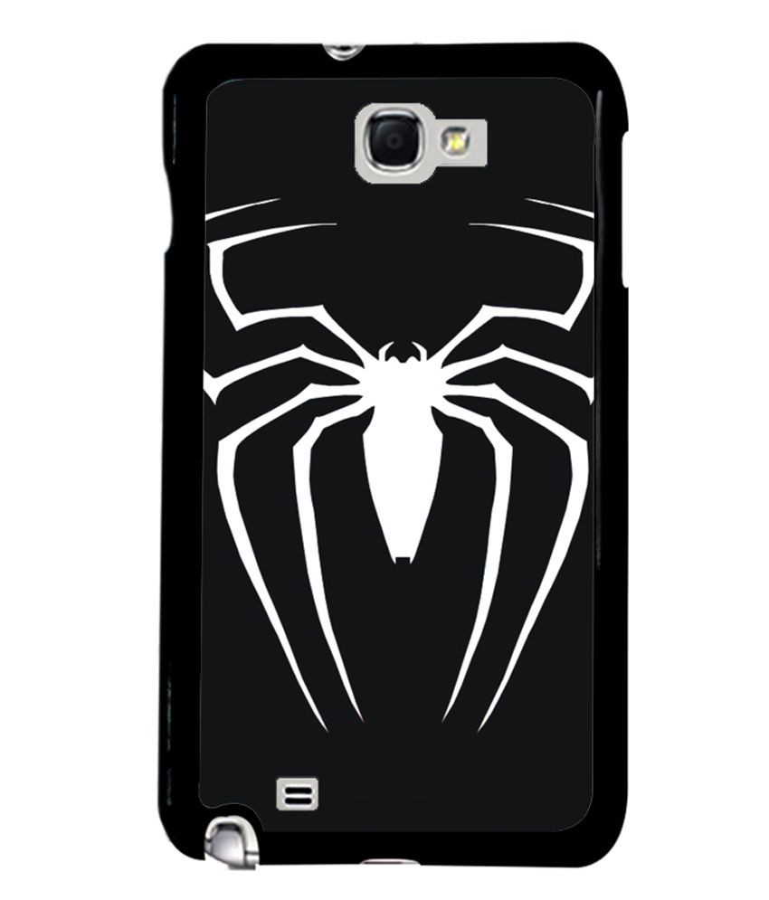 Fuson Spider Logo Premum Designer Back Case Cover for Samsung Galaxy Note i9220 : Samsung Galaxy Note 1 N7000