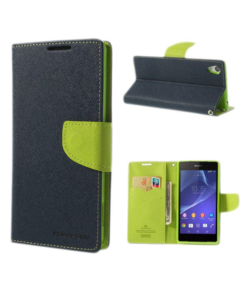 new arrival ee843 5f56a Mercury Goospery Flip Cover Case for LG L90 Dual D410/D415 - Blue Green