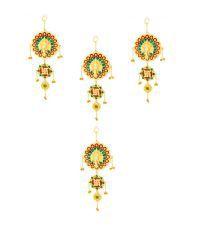 Shruti Creations Present Ganpati Wall Hanging Pack Of 4