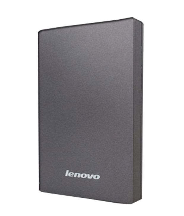 Lenovo 1 TB External Hard Disks Grey