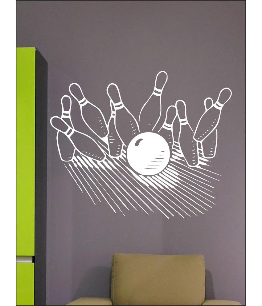 wall1ders bowling white stickers large buy wall1ders