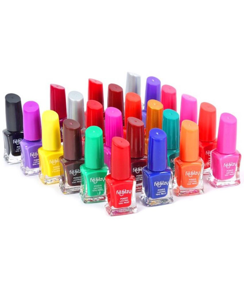 Foolzy Nail Polish Kit Multicolor Matte 240 Gm: Buy Foolzy