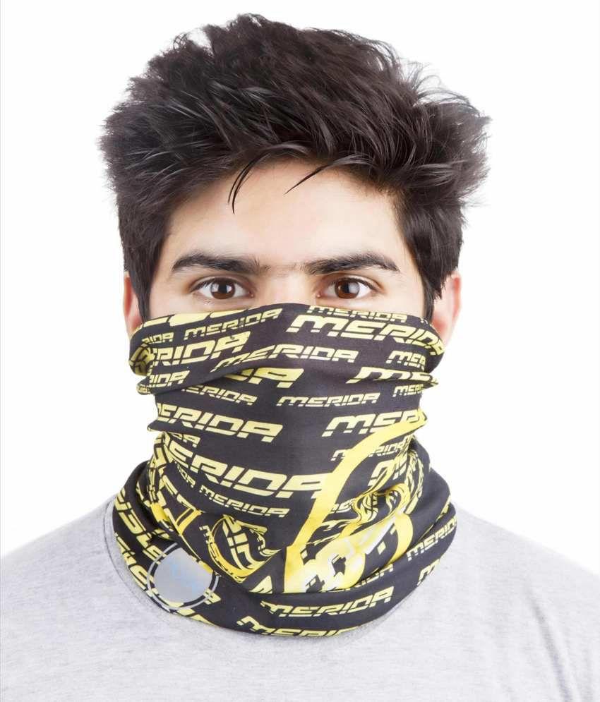 Noise Yellow Polyester Bandana