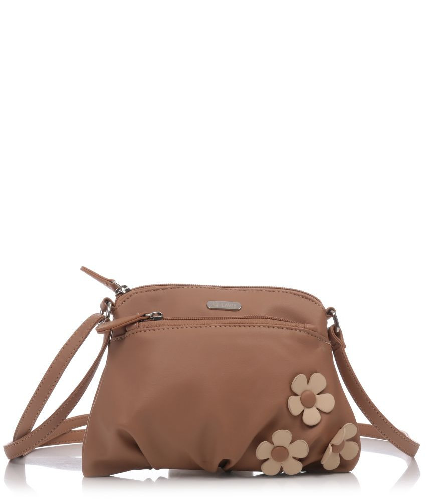 38f04b98628 Lavie L05311129020 Beige Sling Bags - Buy Lavie L05311129020 Beige Sling  Bags Online at Best Prices in India on Snapdeal