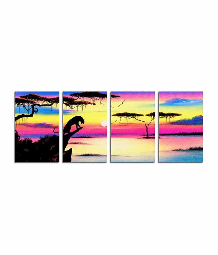 Painting Mantra The Morning Roar Canvas Art Set