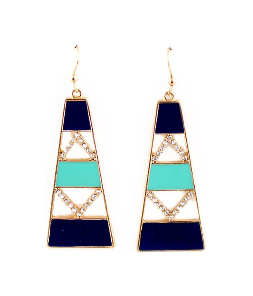 Amfez Multicolour Antique Charming Stylish Fashion Earrings for Women