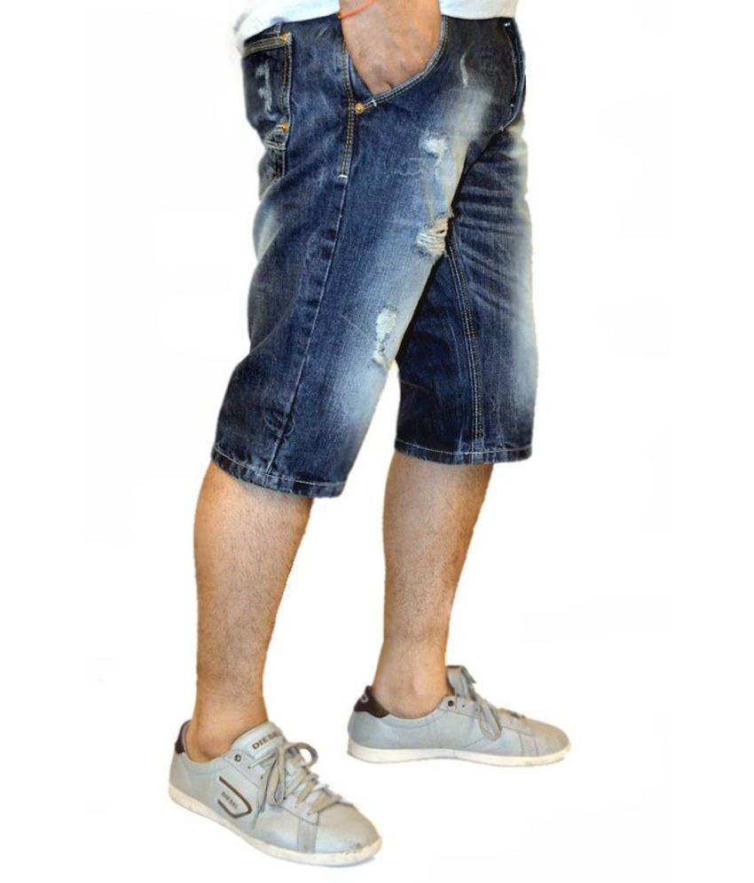 mens denim shorts online