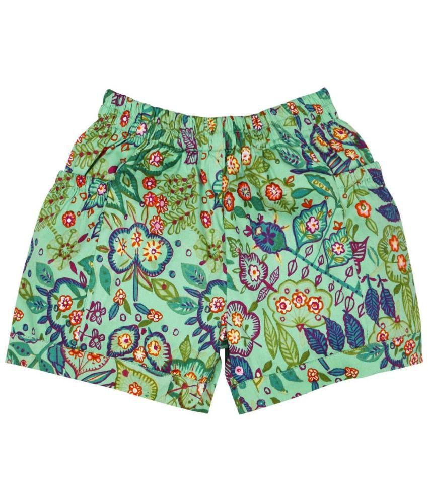 Oye Cotton Elastic Shorts
