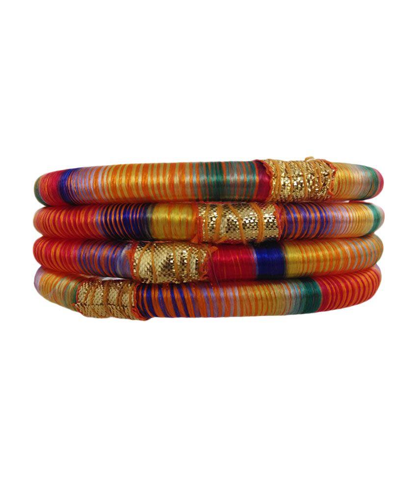 Royalminchem Multicolour Designer Bangles