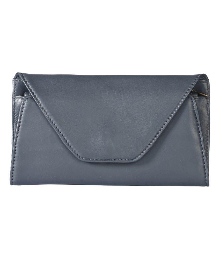 Sellini Tacana Navy Blue Fine Grain Premium Leather Wallet