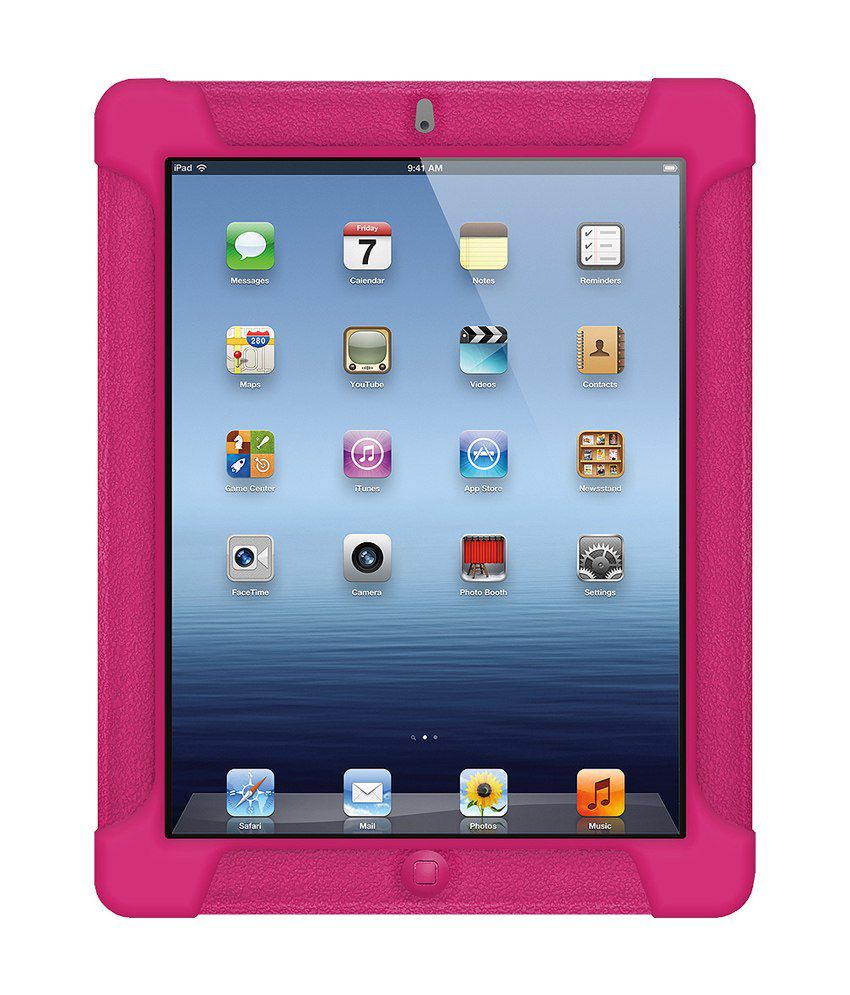 Amzer Case Cover For Apple iPad 4 - Pink