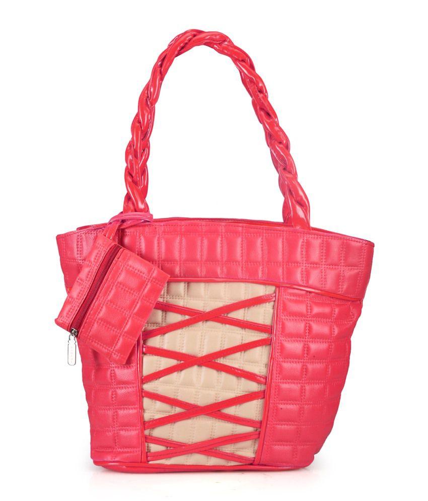 Berry Bella Pink Shoulder Bag