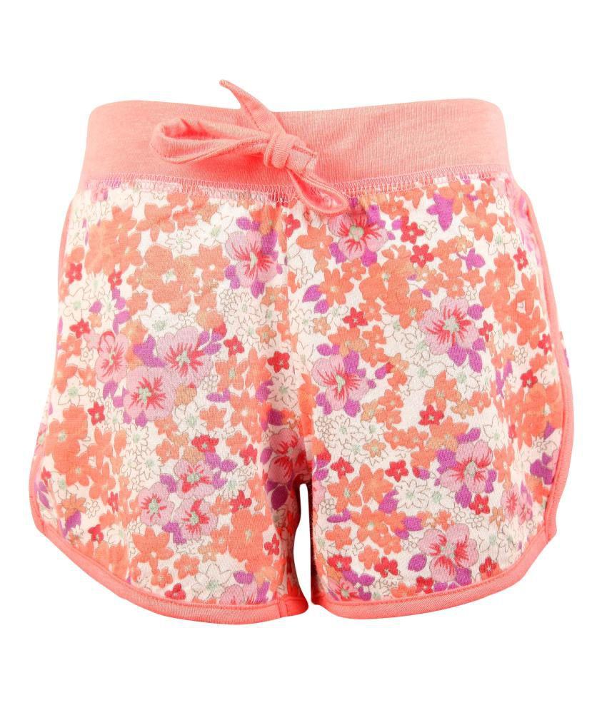 Bio Kid Girls Sporty Biker Shorts
