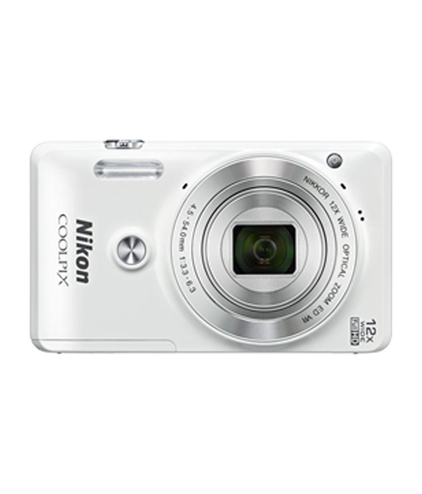 nikon coolpix s6900 digital camera with 16 mp & 12x with free pb of 2200 mah