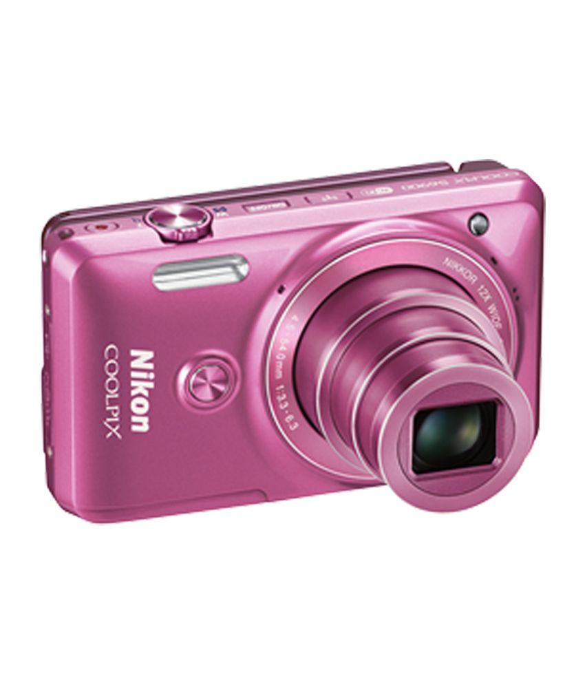 Nikon Coolpix S6900 16.0MP Digital Camera (Pink) Price in