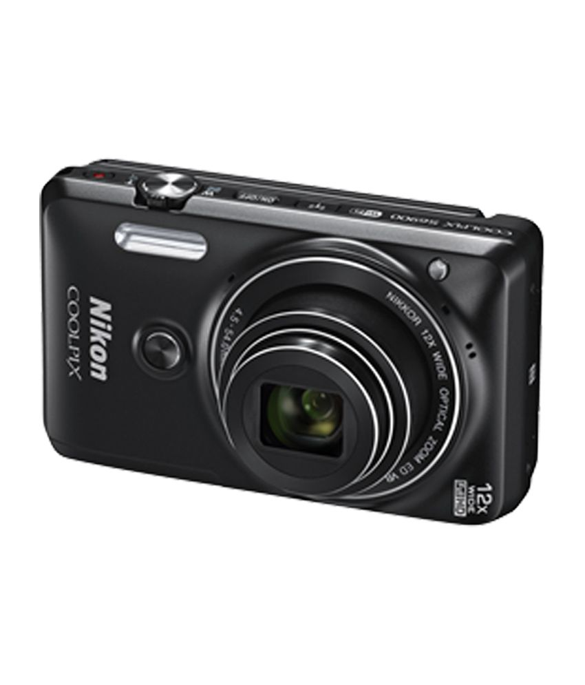Nikon Coolpix S6900 160mp Digital Camera Black Price In India Af Micro Nikkor 60mam F 28d Lens