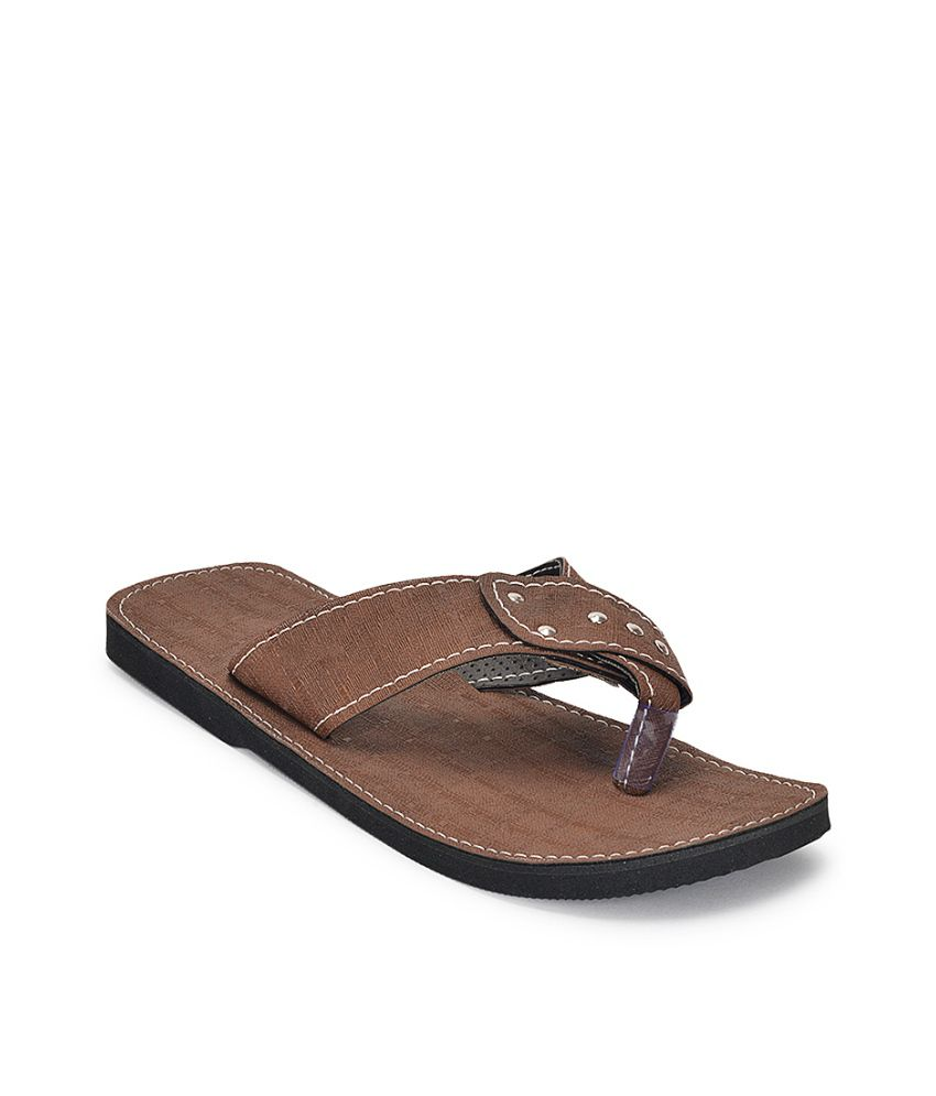 84d0a704fdf6 Paduki Brown Floater Sandals - Buy Paduki Brown Floater Sandals Online at  Best Prices in India on Snapdeal