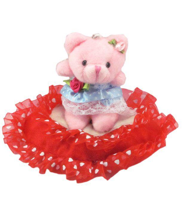 Tickles Pink Fiber Teddies For Girl