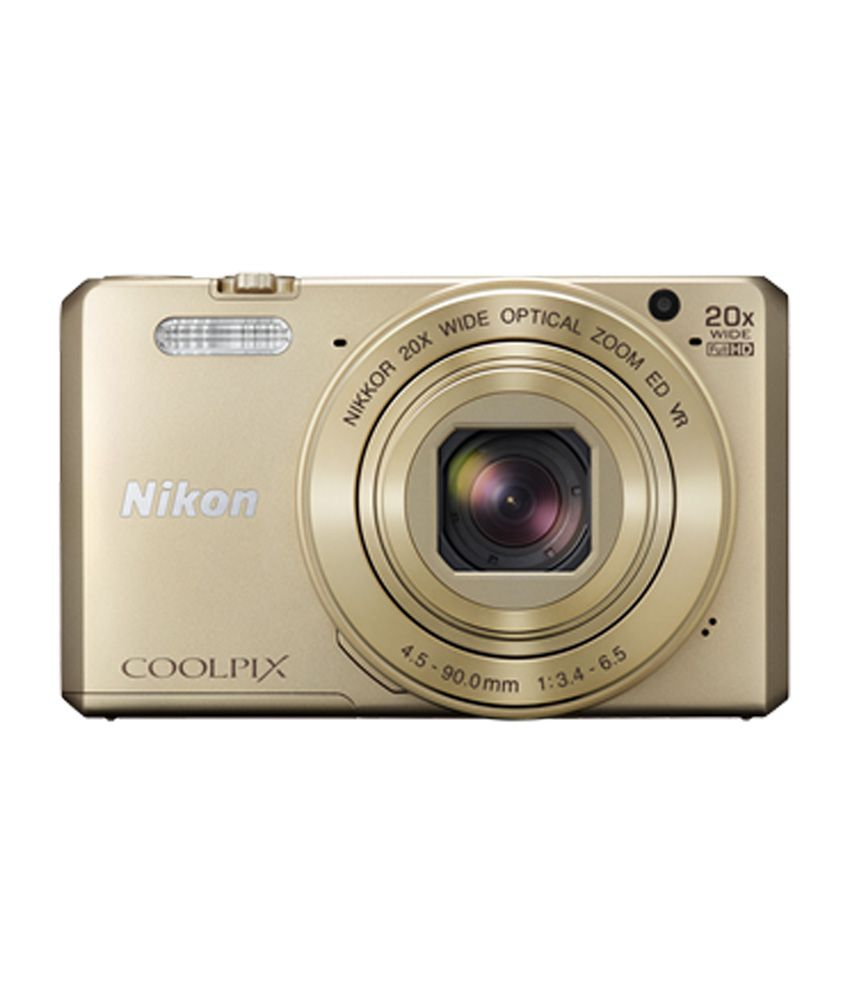 Nikon Coolpix S7000 16.0MP Digital Camera (Golden) Price in India ...
