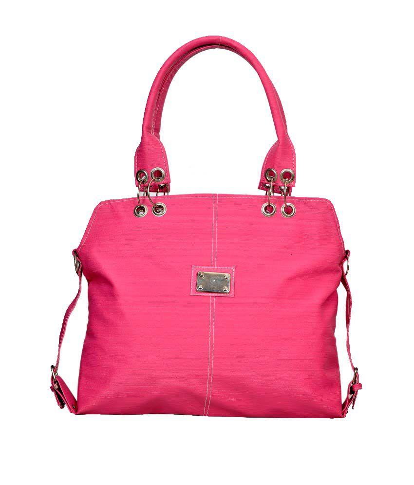 ladies handbags pink - photo #33