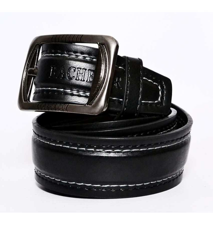 Socser Lifestyle Outstanding Black Pin Buckle Casual Belt