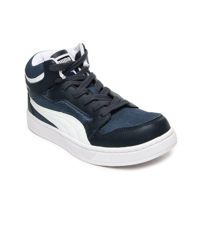 Puma Blue Smart Casuals Shoes Art SP358501032