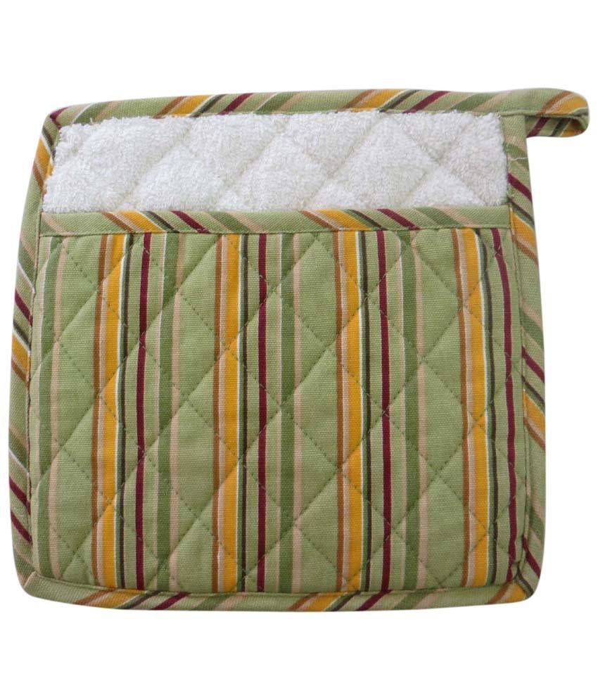 Living Cocoon Multicolor Stripes Pot Holder