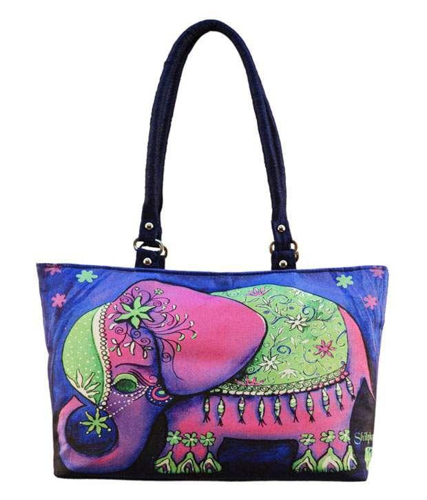 Shilpkart Blue Designer Shoulder Bag