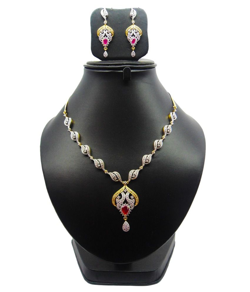 Bling N Beads Wedding And Engagement Necklace