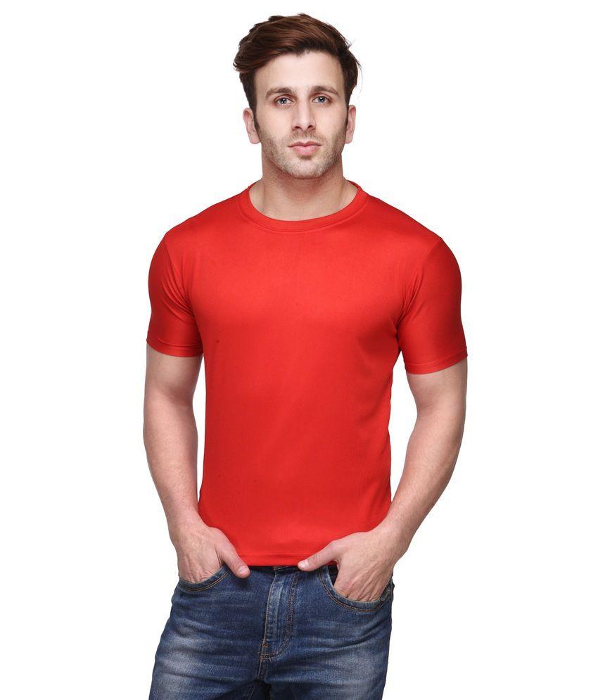 S T Enterprise Men's Cotton Round Neck T Shirt