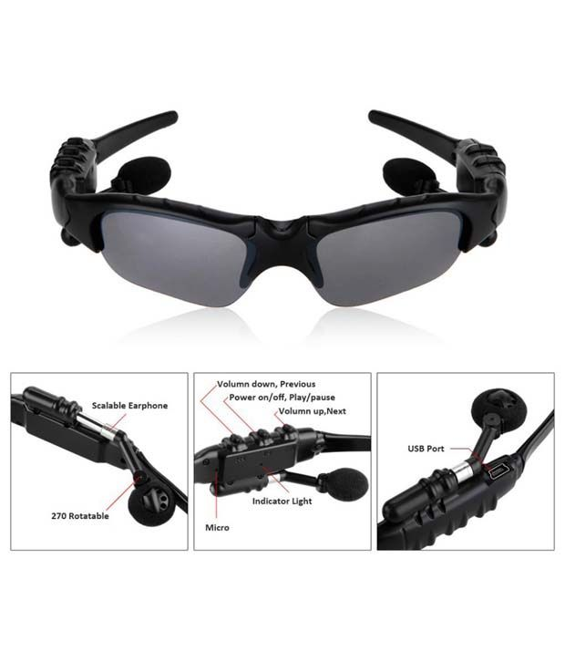 Polarized Sunglasses Online India  sports stereo wireless bluetooth headset polarized driving