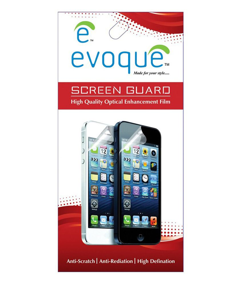 iBall Andi 4F Waves Clear Screen Guard by Evoque