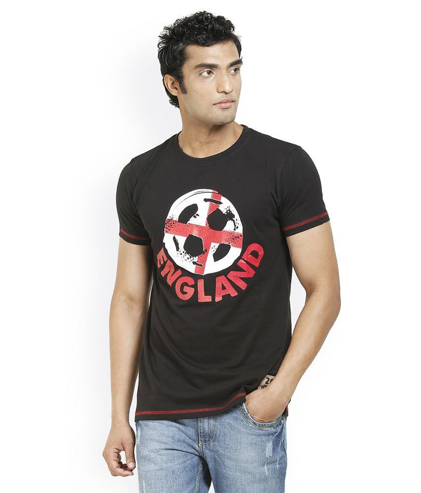 Fifa Men's Round Neck Printed T-Shirts