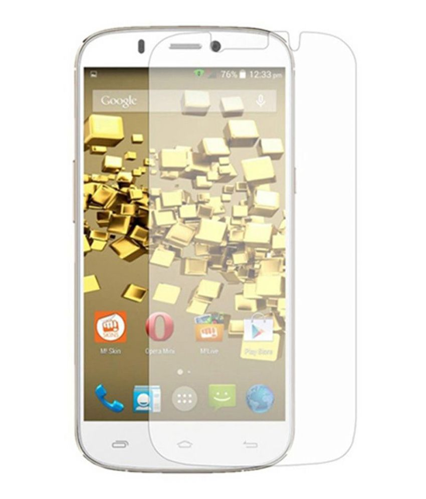 CaseTech Anti-Explosion Tempered Glass Screen Guard for Micromax A315