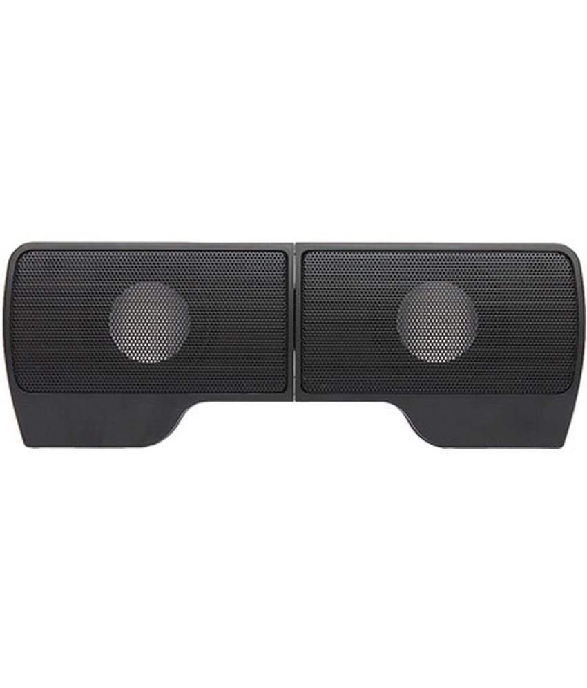 Technotech Desktop Speakers 2 Computer Speakers Black