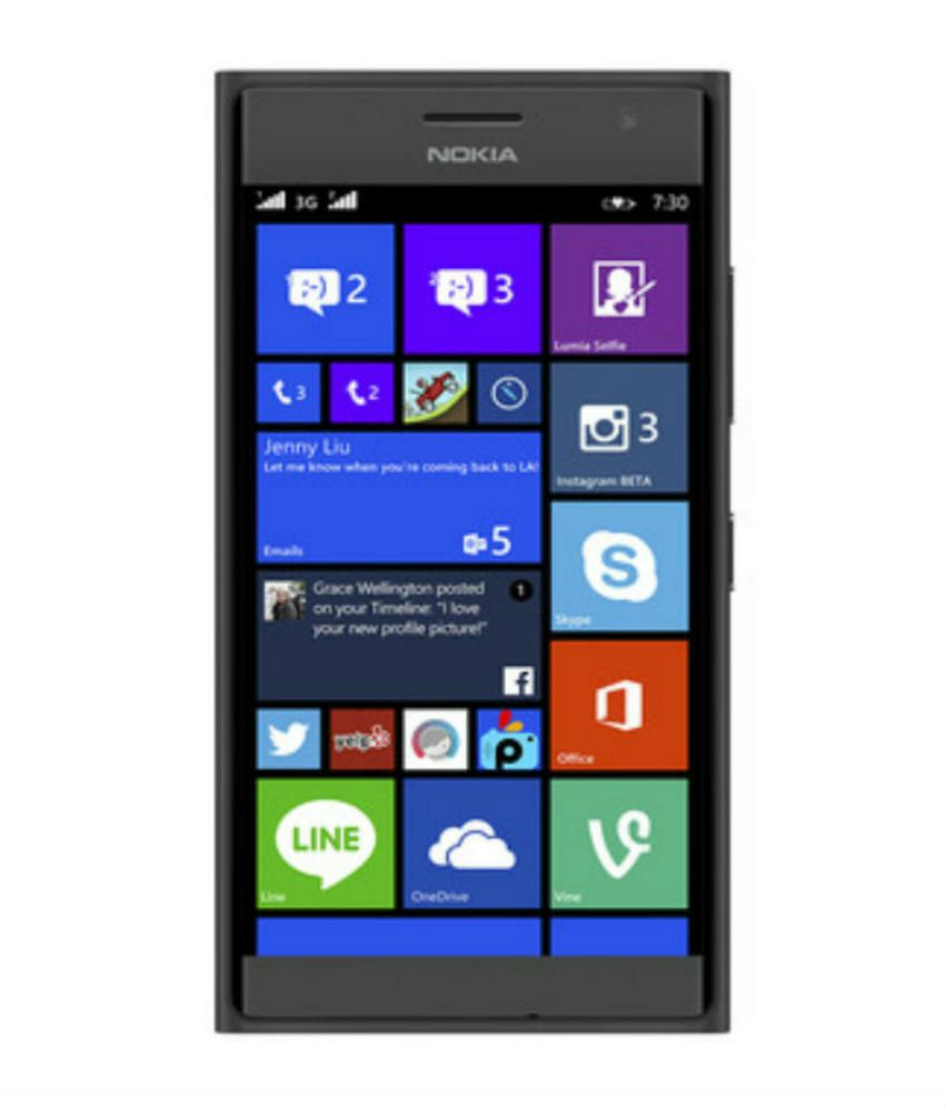 Smartphone Nokia Lumia 730 Dual SIM: an overview b specifications 20
