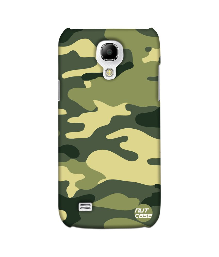 huge selection of 6b797 c9dd6 Nutcase Military Army Camo Samsung Galaxy S4 MINI Back Cover - Multicolor