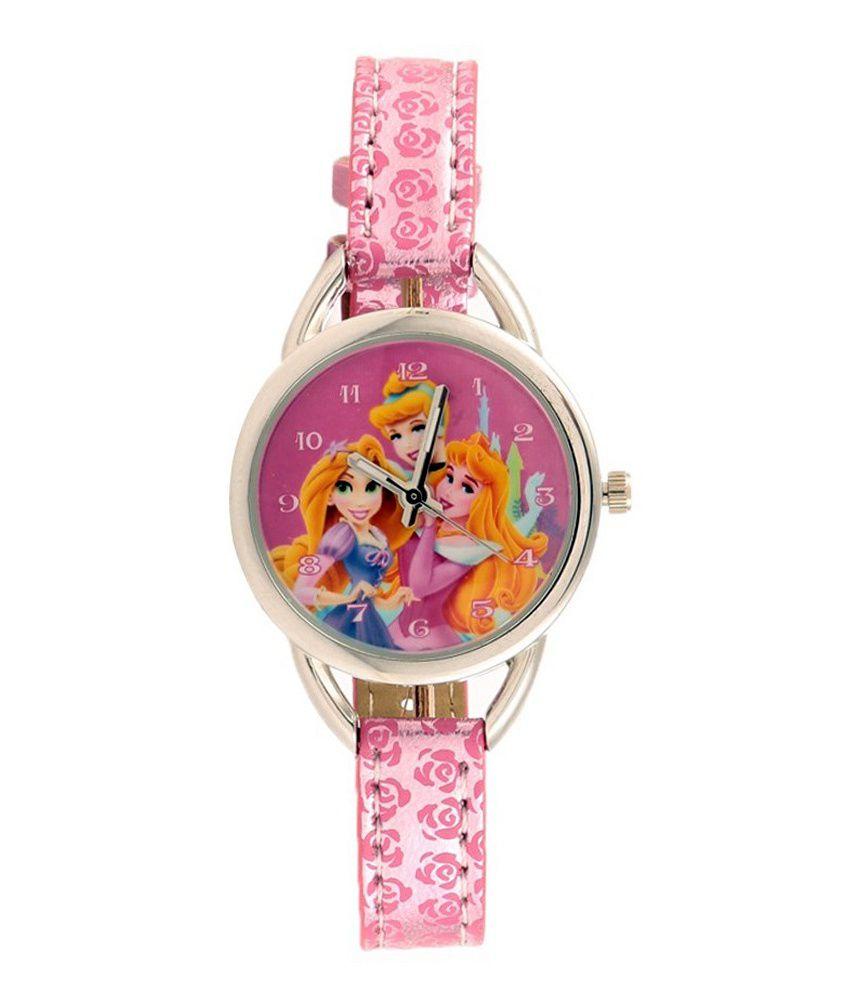 Disney Princess Trendy Analog Wrist Watch For Kids
