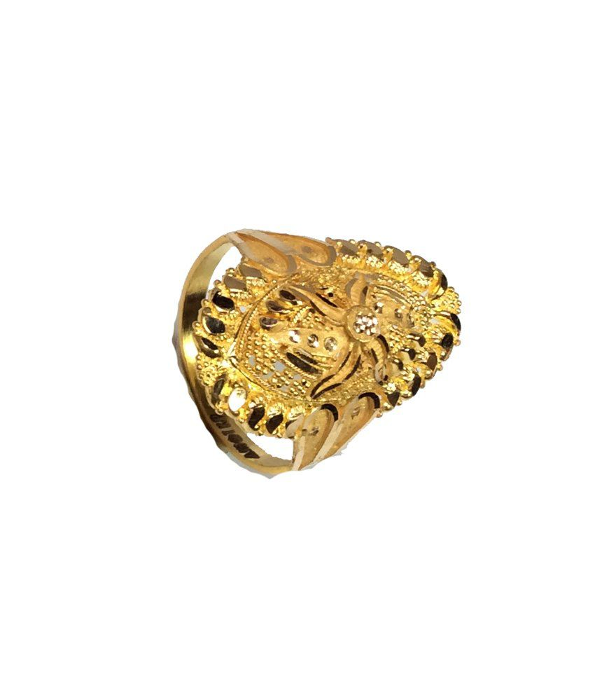 Kataria Jewellers 22KT Gold Traditional Ladies Ring