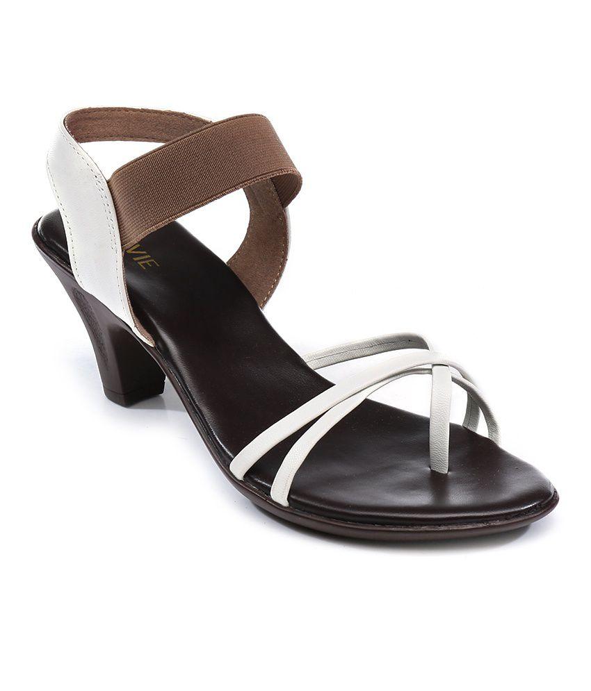 Lavie White Sandals