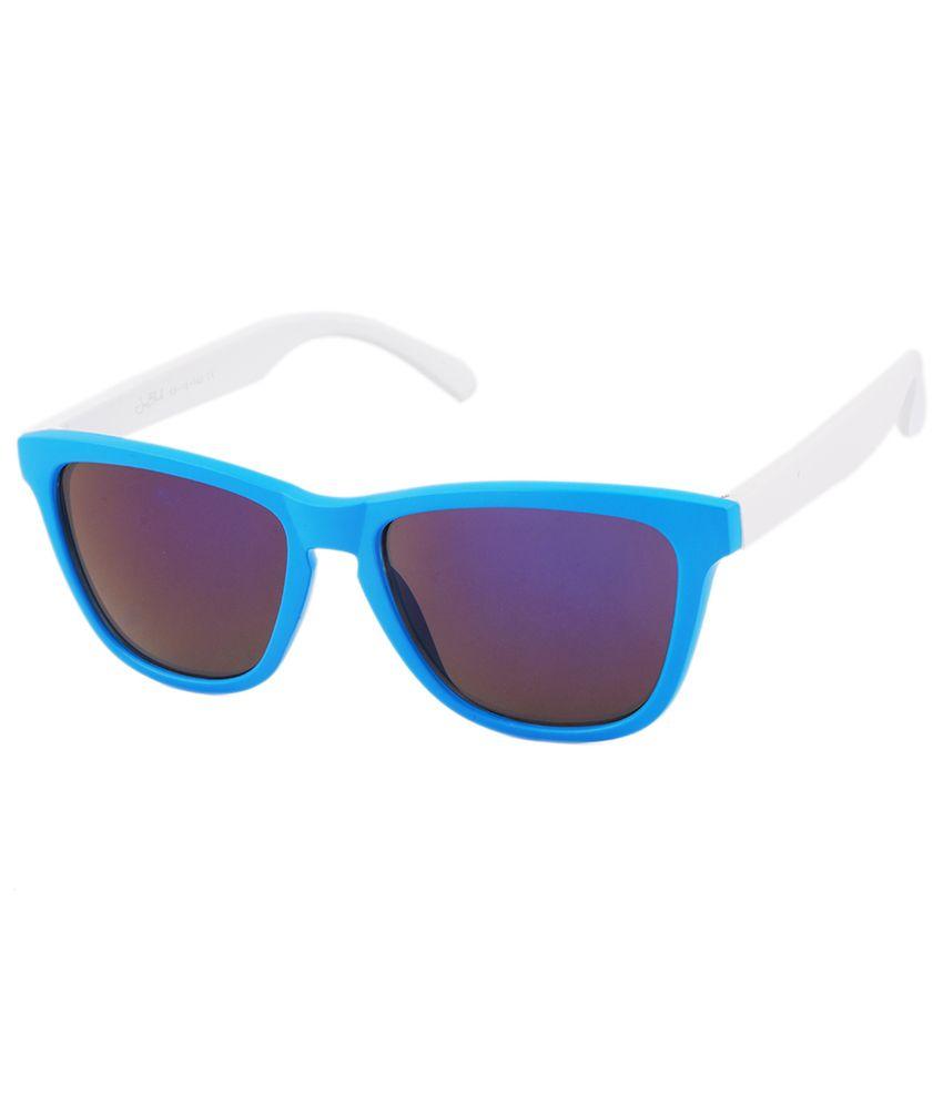 Joe Black - Blue Square Sunglasses ( jb-6280-c10 )