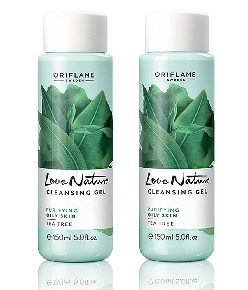 Love Nature Tea Tree Cleanser For Oily Skin 150 ml: Buy Oriflame Love ...