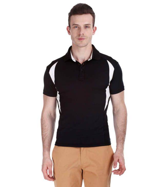 Zobello Multicolour Polyester Fitness Polo