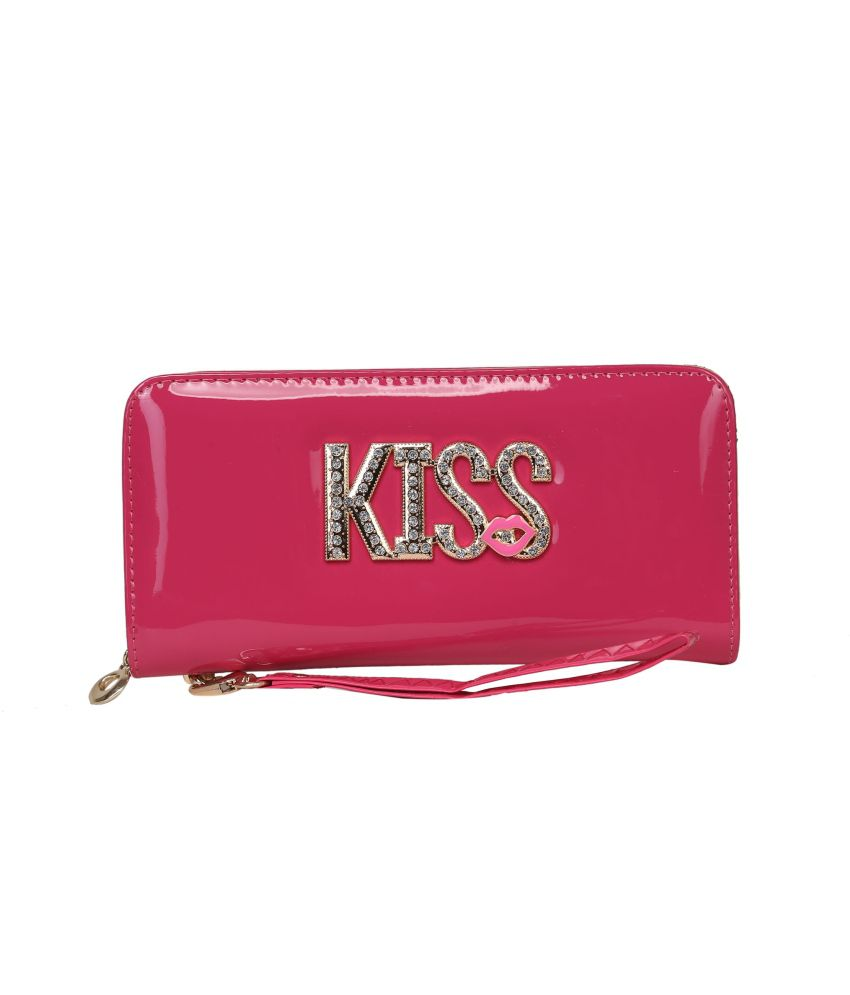 Adara Pink Long Wallet