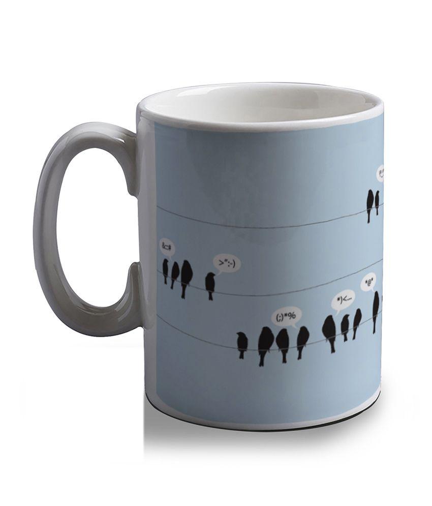 Artifa Birds Tweeting Coffee Mug
