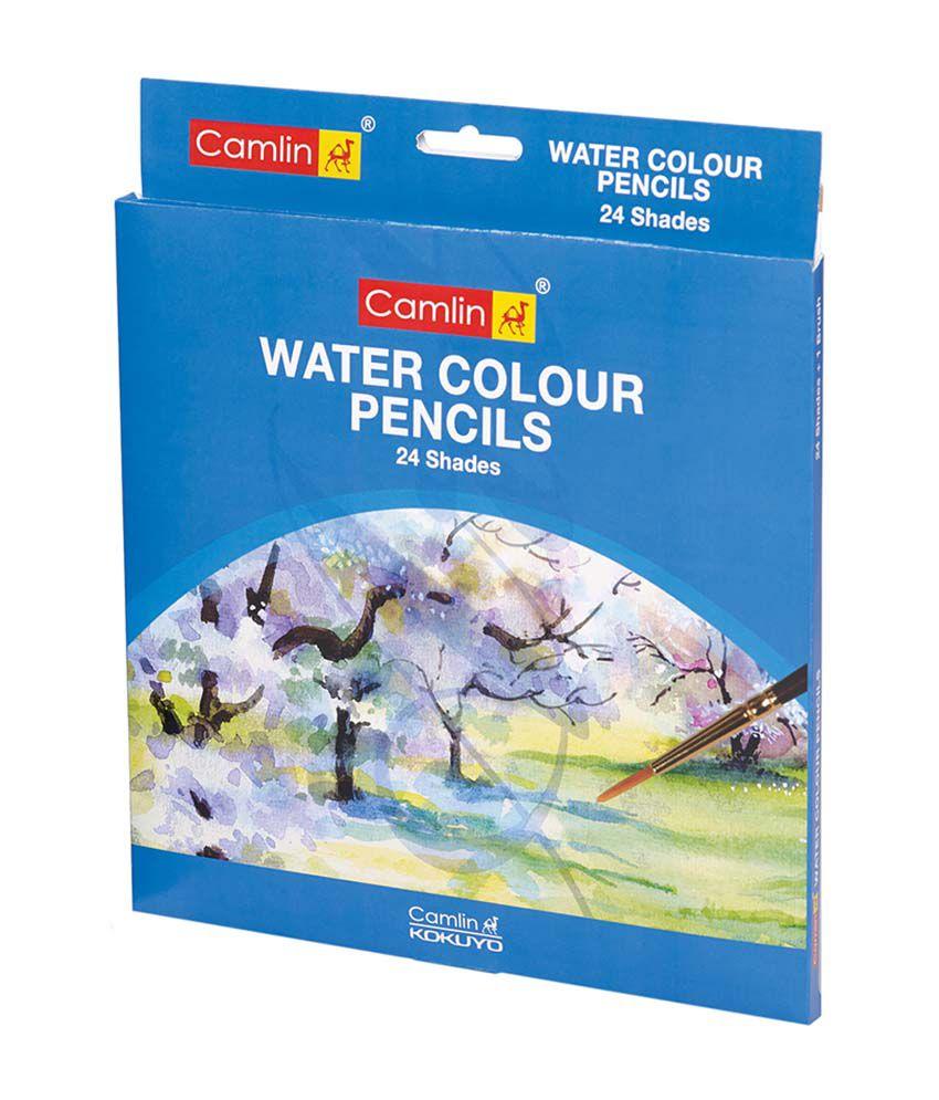 Camlin Water Colour Pencil - 24 Shades